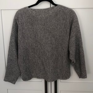 Babaton with Cashmere grey sweater